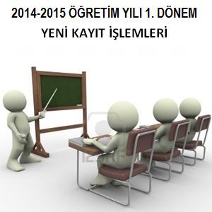 Açık Öğretim Lisesi 2014 1. Dönem Yeni Kayıt İşlemleri